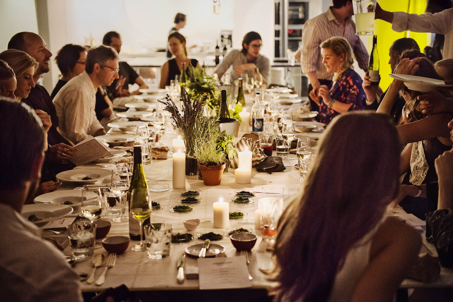Wild and Root pop up dinner Berlin