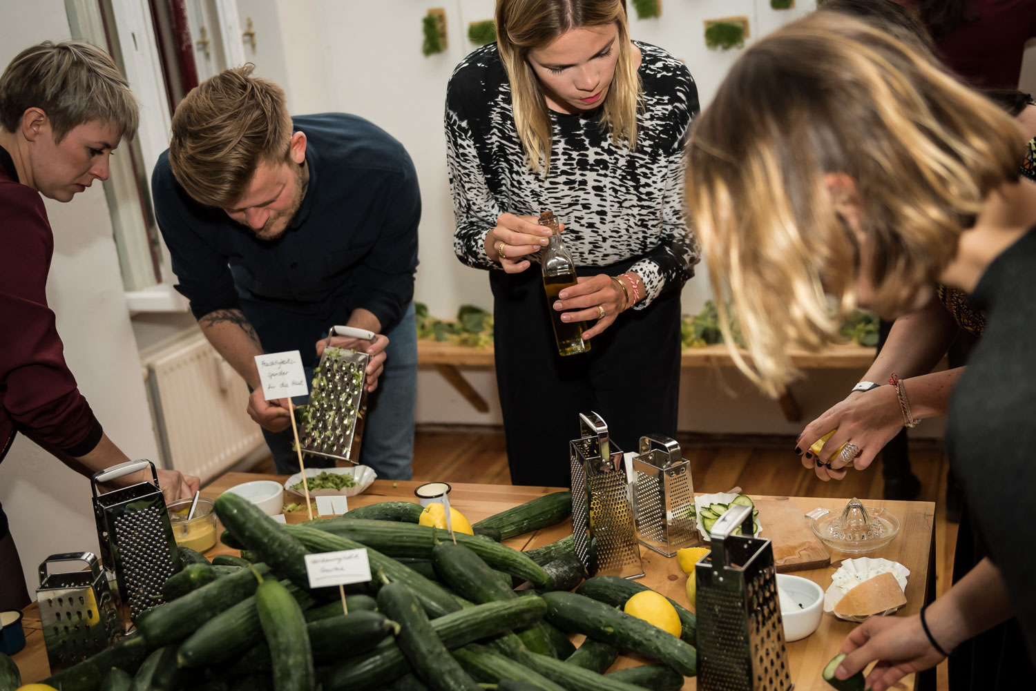 Wild and Root Food Lab Event Berlin