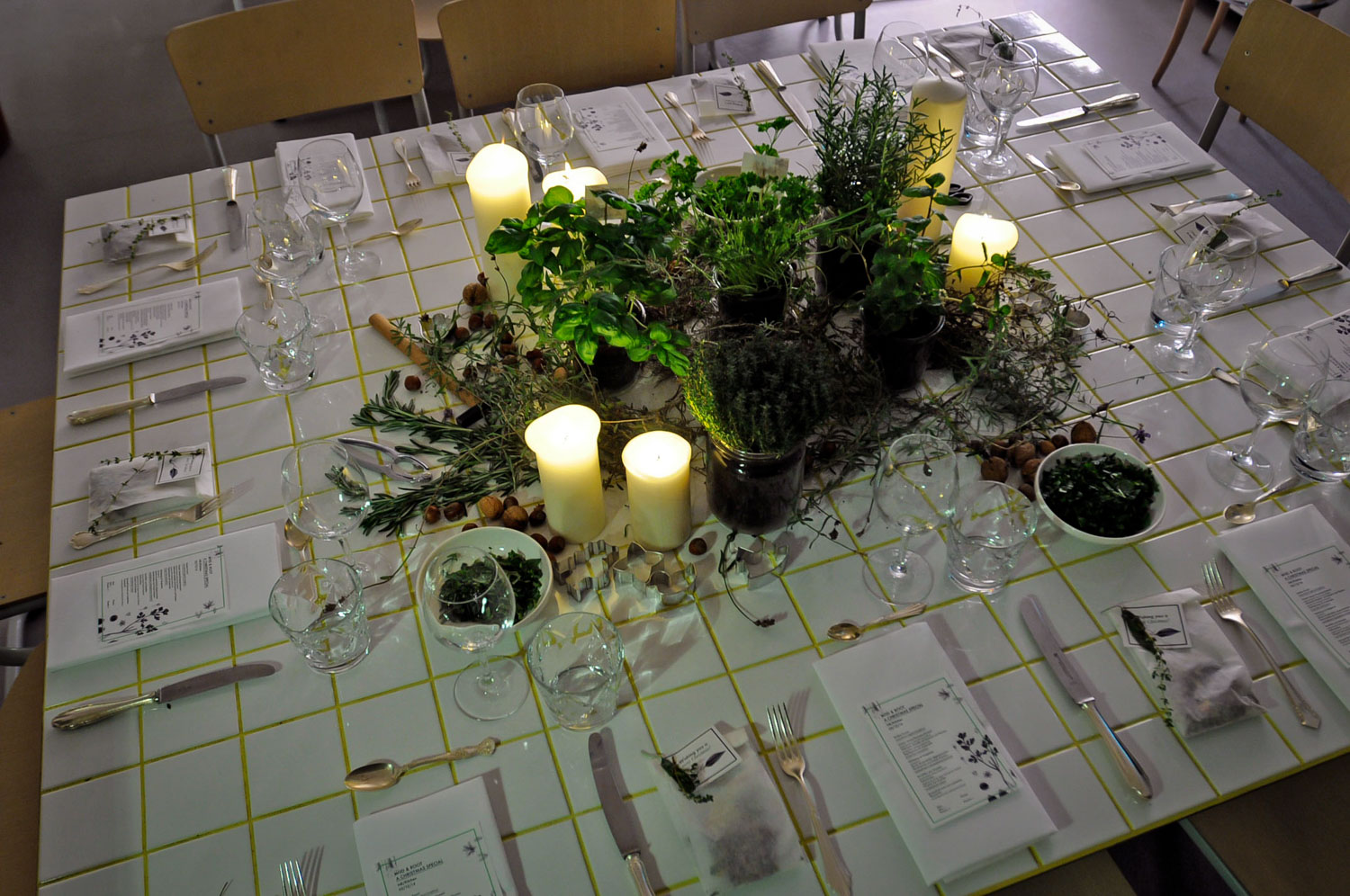 Wild and Root Dinner Styling Food Lab Berlin